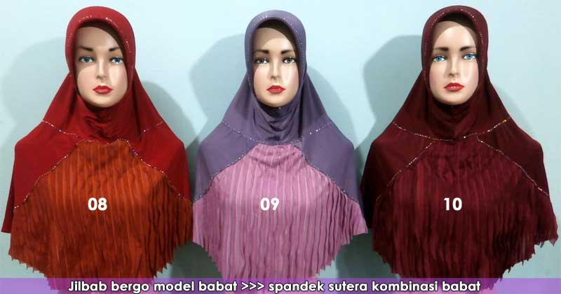 jilbab model babat